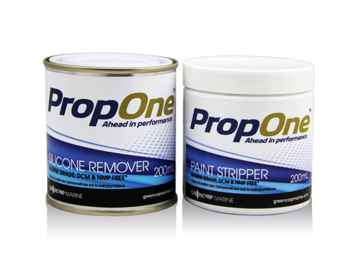 PropOne Removers - Silicone Remover and Paint Stripper - 2 products for easy removal