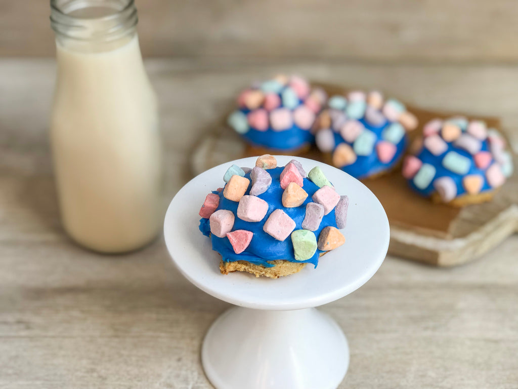 Cereal Marshmallow Sugar Cookies