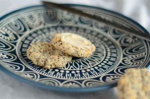 Coconut Flour Chia Biscuits