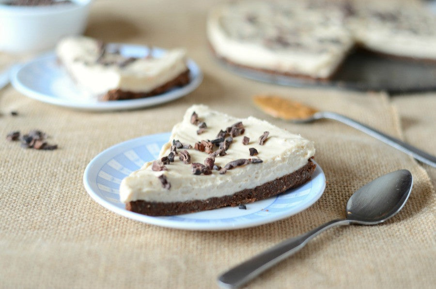 Almond Flour Chocolate Peanut Butter Cheesecake