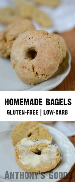 Almond Flour Bagels