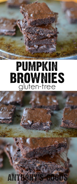 Gluten-Free Pumpkin Brownies