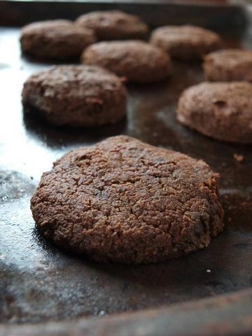 Chocolate Cake Cookies (paleo & vegan)