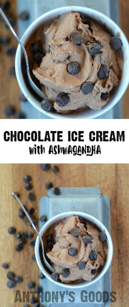 Chocolate Ashwagandha Ice Cream