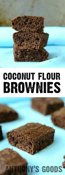 Anthony's Coconut Flour Dream Team Brownies
