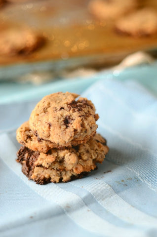 Low Carb Coconut Flour Chocolate Chip Cookies