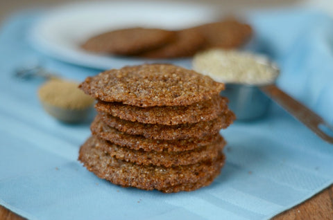 Buckwheat Gingersnaps