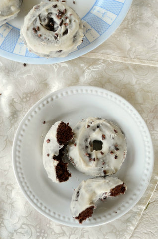Low Carb Chocolate Doughnuts