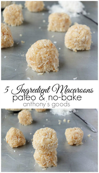 5 Ingredient No Bake Macaroons