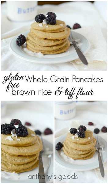 Gluten Free Whole Grain Pancakes
