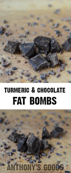 Turmeric Chocolate Fat Bombs