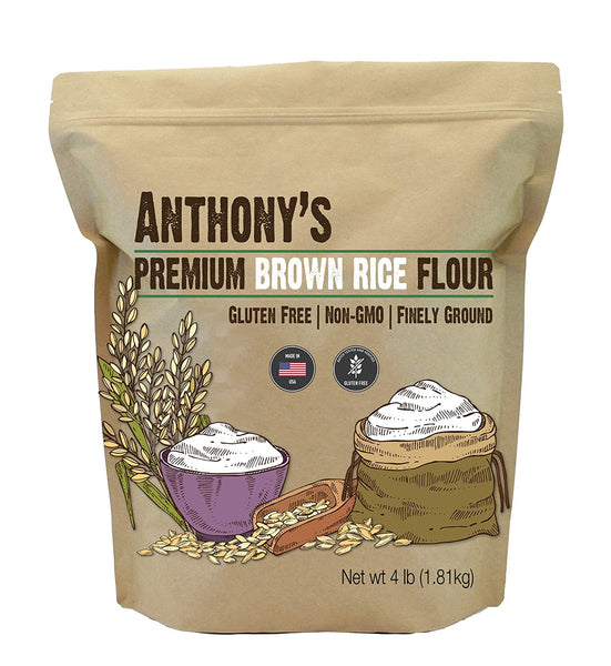 Brown Rice Flour: Batch Tested & Verified Gluten-Free