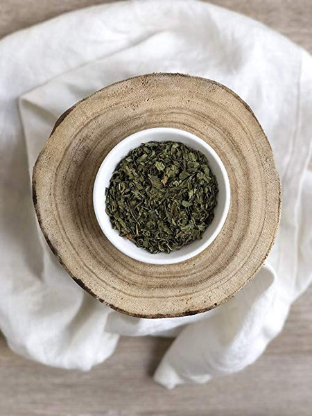 Dried Spearmint Leaves: Organic & Gluten Free, Cut and Sifted