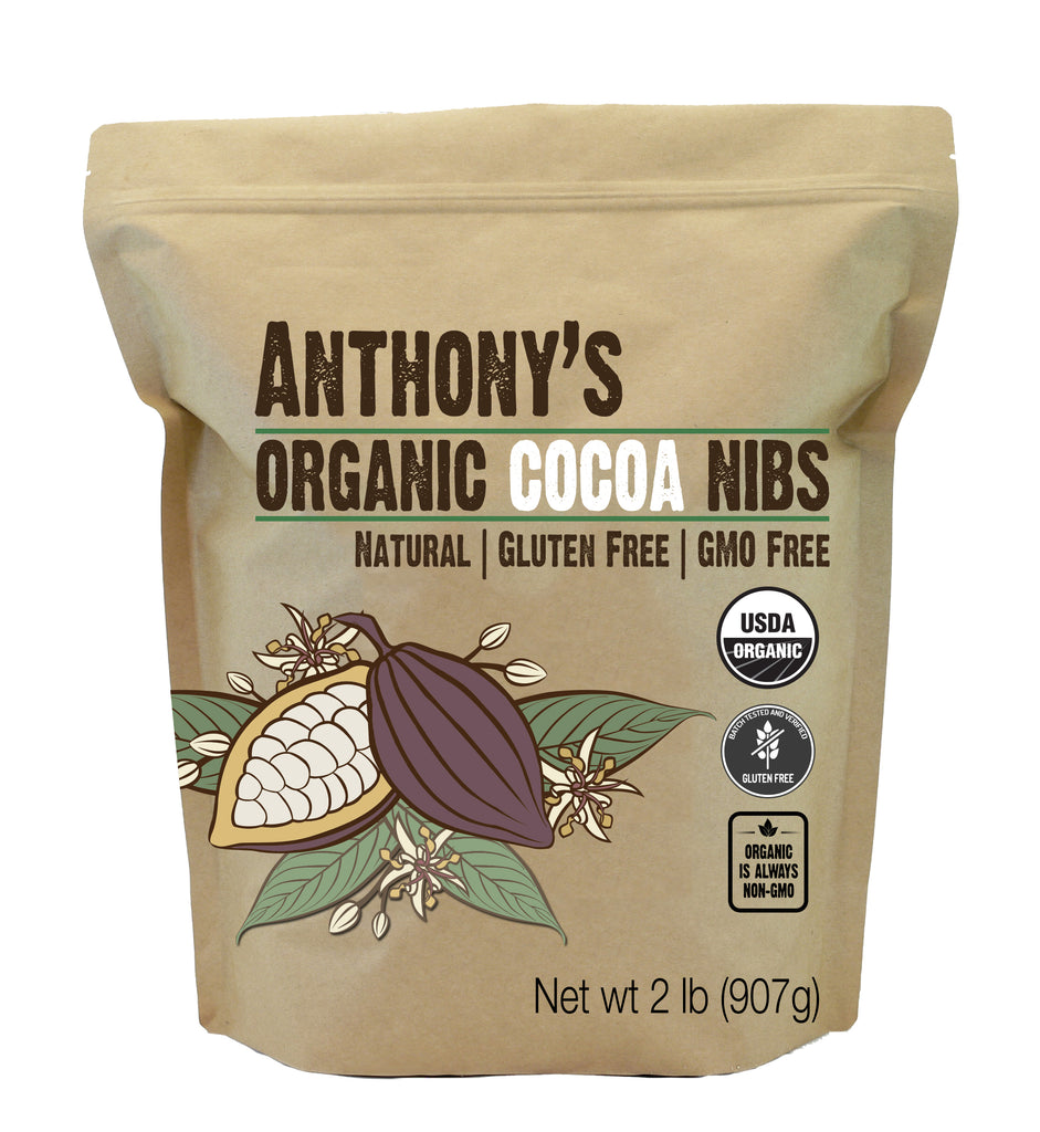 Organic Cocoa Nibs: Batch Tested and Verified Gluten Free