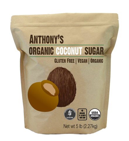Organic Coconut Sugar: Batch Tested and Verified Gluten-Free