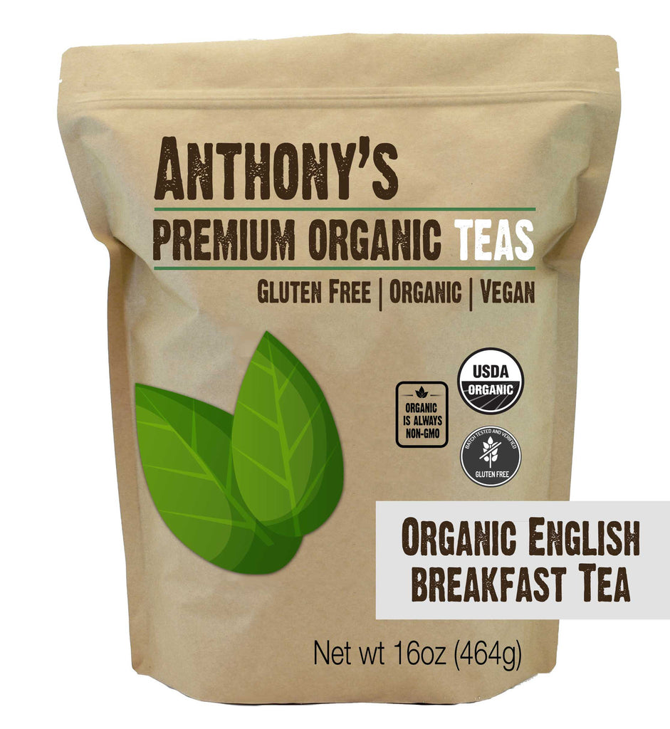 English Breakfast Tea: USDA Organic & Gluten-Free