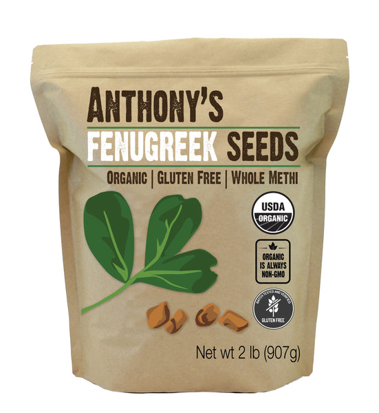 Fenugreek Seeds: Organic, Gluten-Free, Whole Methi