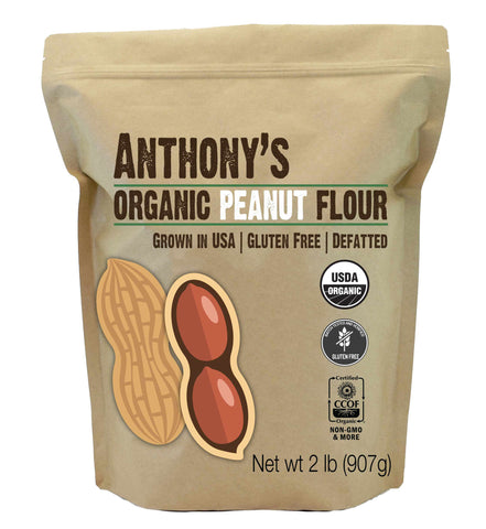 Peanut Flour: Batch Tested & Verified Gluten-Free