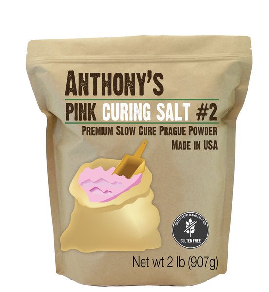 Pink Curing Salt #2: Premium Slow Cure Prague Powder