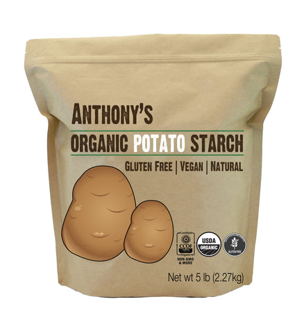 Organic Potato Starch: Batch Tested & Verified Gluten-Free
