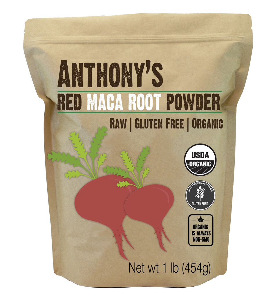 Organic Maca Root Powder (Red Maca 1-lb.)