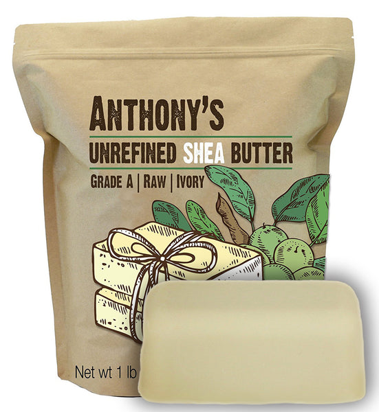 Unrefined Shea Butter: Grade A, Ivory, Pure, Raw
