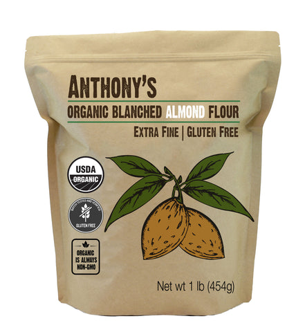 Organic Almond Flour: Blanched & Certified Gluten-Free