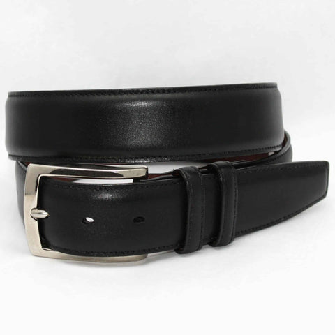 Italian Burnished Calfskin Belt in 2 Colors by Torino Leather Co.