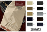 Super 120's Travel Twill Dress Pant in 8 colors by Ballin