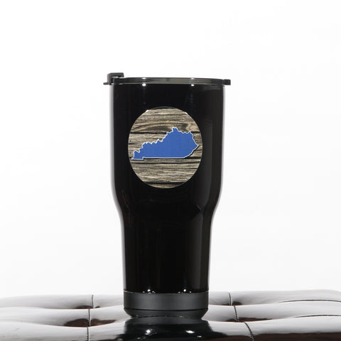 Kentucky State 30 oz. RTIC Tumbler in Black by Deluge Concepts
