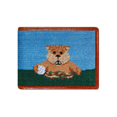 Caddyshack Needlepoint Wallet by Smathers & Branson