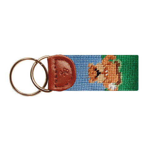Caddyshack Needlepoint Key Fob by Smathers & Branson