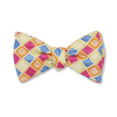 Carlisle Bow Tie in Yellow by R. Hanauer