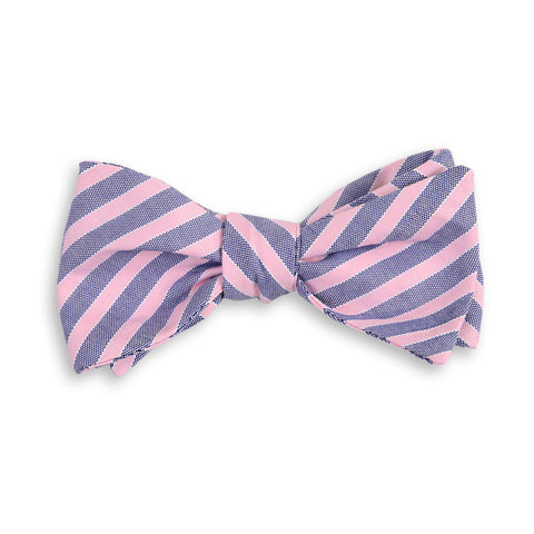 Clarke Stripe Bow Tie by High Cotton