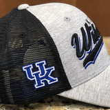 Kentucky Wildcats Cutter Trucker Hat in Two-Tone by Top of the World