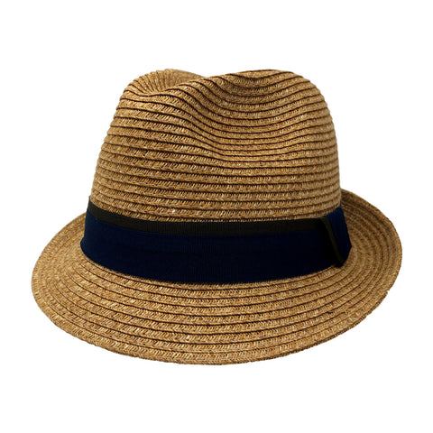 Devlyn Stingy Brim Fedora in Oat by One Fresh Hat