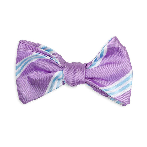 Easter Basket Bow Tie in Lavender by High Cotton