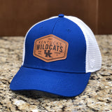 Kentucky Wildcats Edge Trucker Hat in Two-Tone by Top of the World