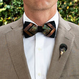 Ferrelle Feather Bow Tie by Brackish