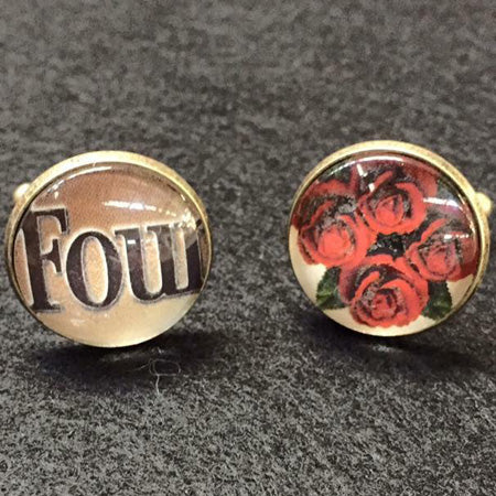 Four Roses Cufflinks by The Best of Kentucky