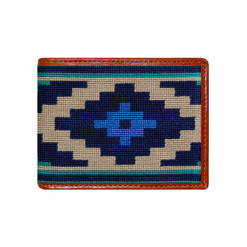 Gaucho Needlepoint Wallet by Smathers & Branson