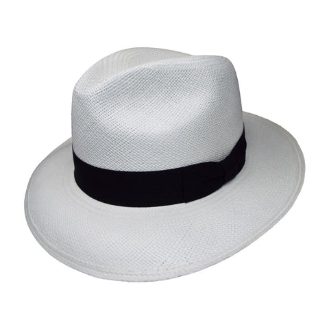 Hemingway Panama Hat in White by One Fresh Hat