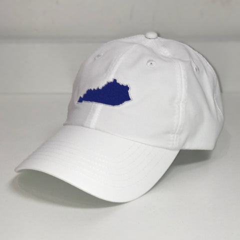 Kentucky State Sport Hat in White by Logan's