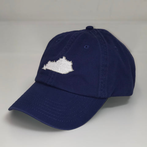 Kentucky State Hat in Blue by Logan's