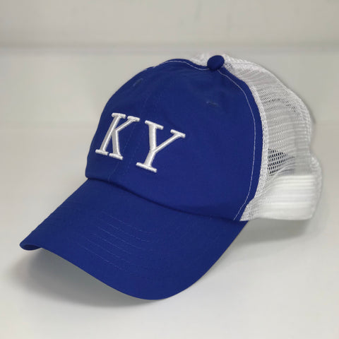 KY Trucker Sport Hat in Blue by Logan's