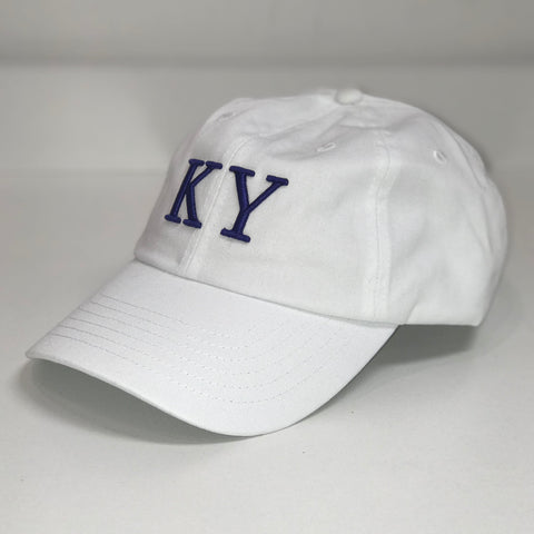 KY Hat in White by Logan's