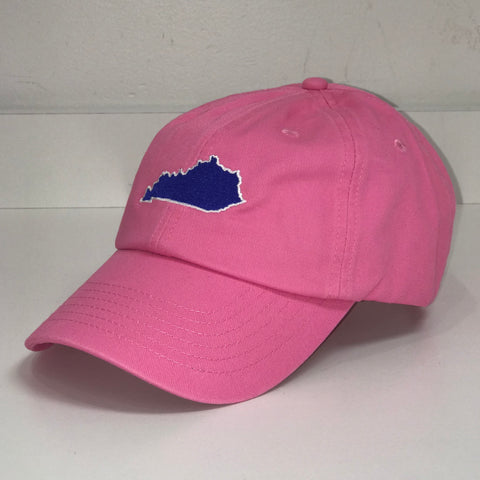 Kentucky State Hat in Pink by Logan's