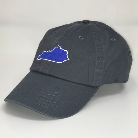Kentucky State Hat in Charcoal by Logan's