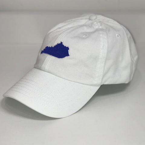 Kentucky State Hat in White by Logan's