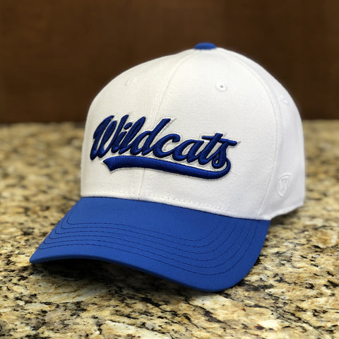 Kentucky Wildcats Infield Hat in White by Top of the World